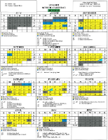 Updated Calendar for 2018-2019 School Year