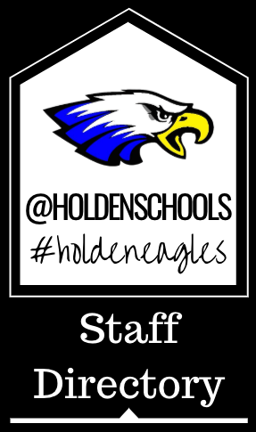 staff directory graphic with @holdenschools and #holdeneagles